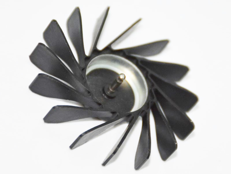 Plastic Injection Part Venting Shop Fan By Injection Machine Molded