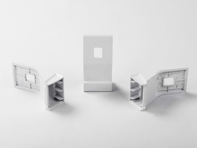 White Goods Refrigerator Plastic Injection Part Door Handle Support Part